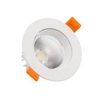 Faretto Downlight LED COB Orientabile Rotondo 15W Bianco
