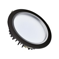 Downlight LED SAMSUNG 30W 120lm/W Nero LIFUD