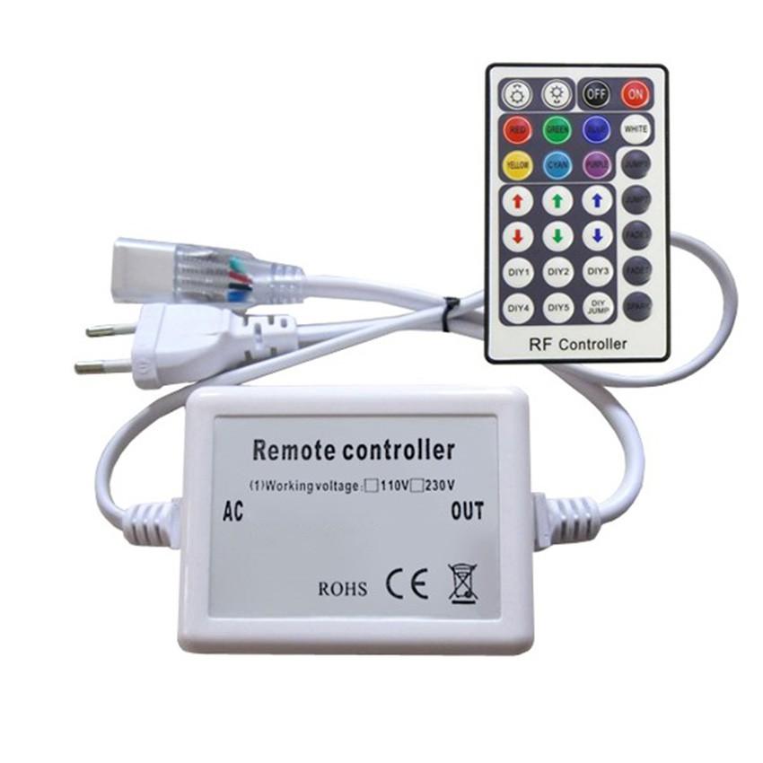 Controller striscia led rgb 220v telecomando rf 28 for Striscia led rgb