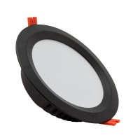 Downlight LED SAMSUNG 120lm/W Aero 48W UGR19 Nero LIFUD