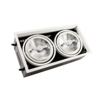 Faretto LED CREE-COB Orientabile AR111 30W Regolabile