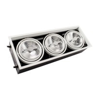 Faretto LED CREE-COB Orientabile AR111 45W Regolabile