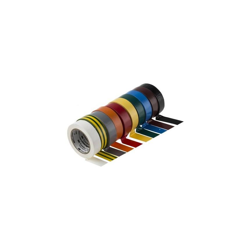 Nastro Isolante Temflex 1300 3M PVC 19mm x 20m 3M 70000626