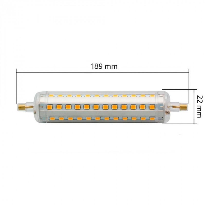 lampadina led r7s slim 189mm 18w ledkia italia