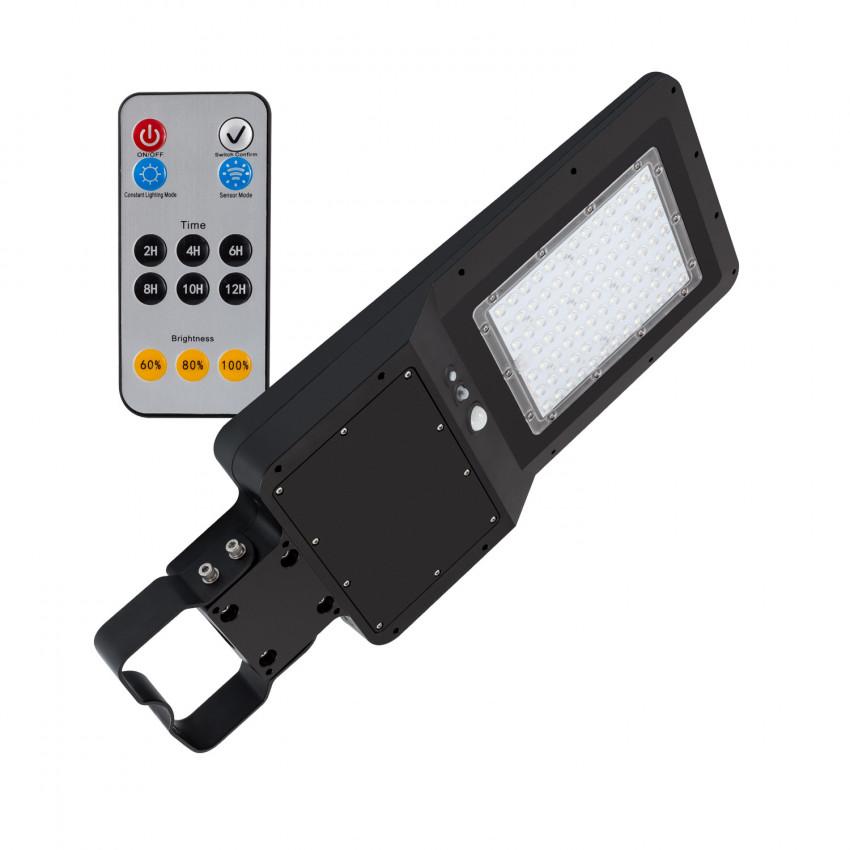 Apparecchio LED Stradale Solare con Sensore di Movimento e Crepuscolare 32W