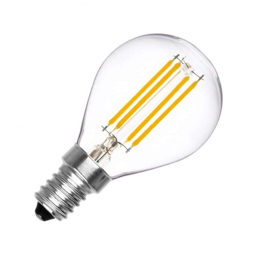 Lampadina LED E14 Filamento G45 4W