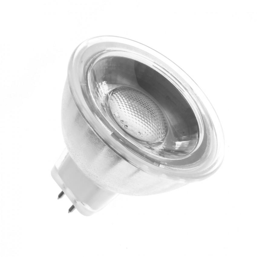 Lampadina LED GU5.3 MR16 12V COB Vetro 45º 5W