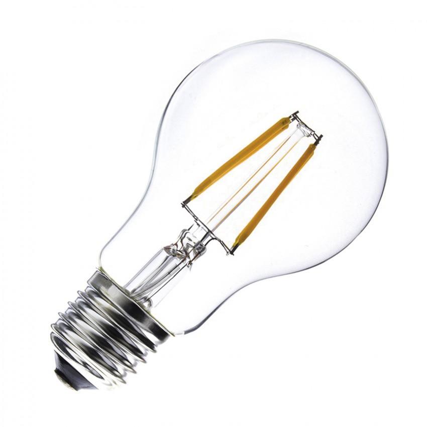 Lampadina LED E27 Regolabile Filamento Classic A60 6W