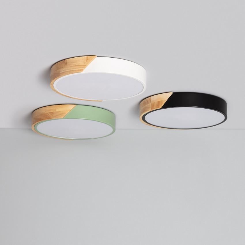 Plafoniera LED Rotonda CCT Semi-Dari 18W