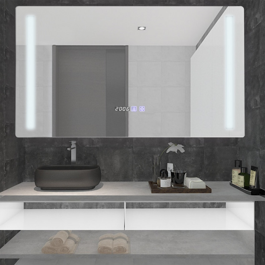 Specchio LED Antiappannamento Touch Big Similan 60x80 cm