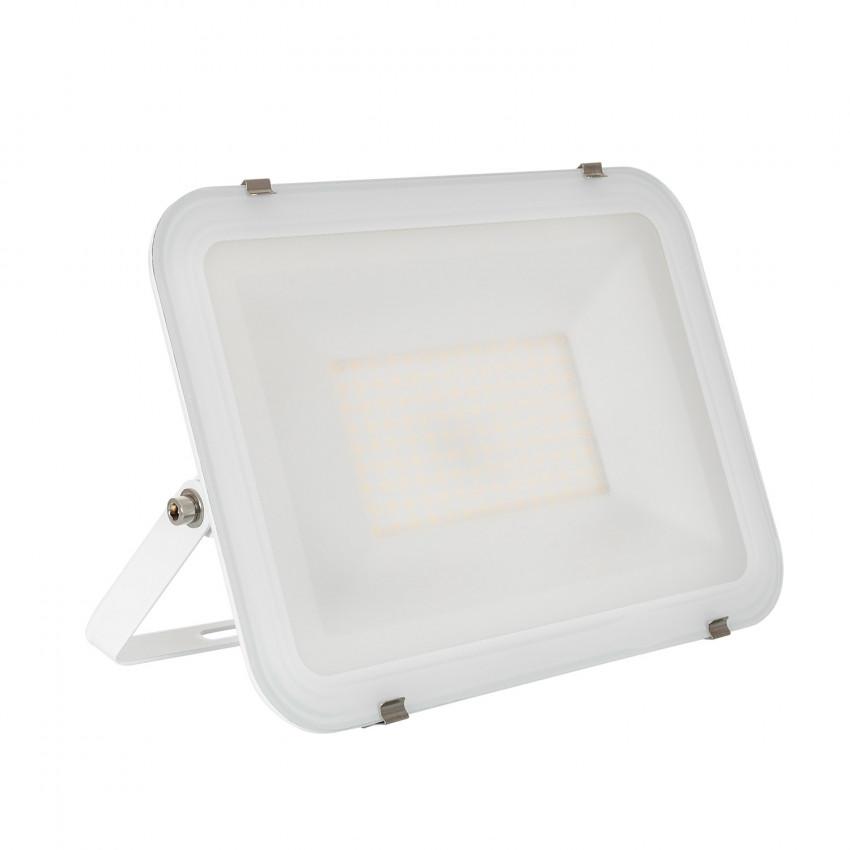 Proiettore LED 100W 120lm/W IP65 Slim Vetro Bianco