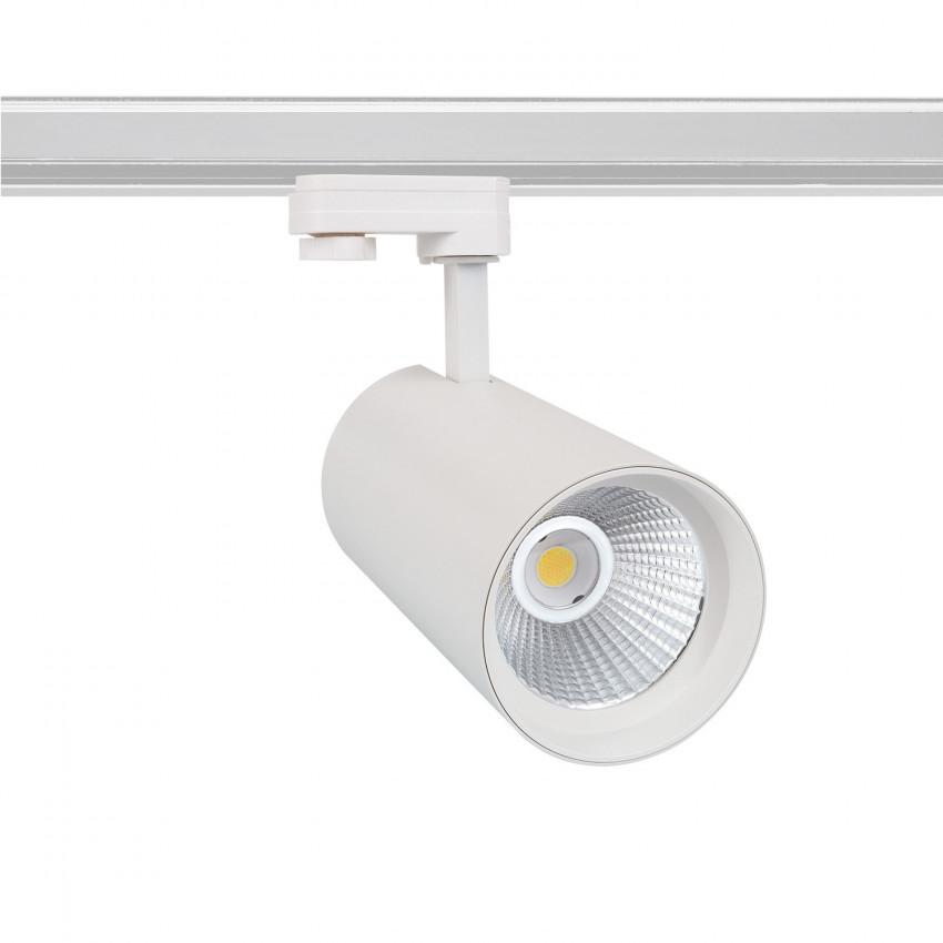 Faretto LED New d'Angelo Bianco 40W LIFUD per Binario Trifase