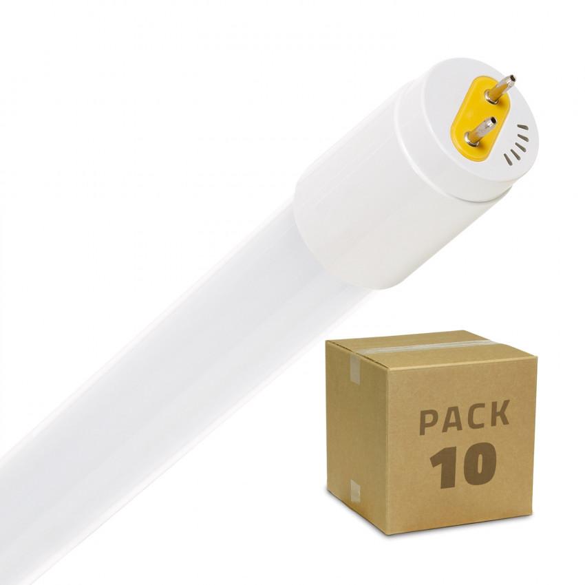 Pack Tubo LED T8 Vetro 900mm Connessione Unilaterale 14W 110lm/W (10 Un.)