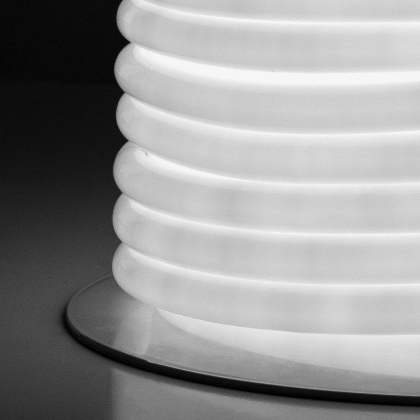 Bobina Striscia LED Neon Flessibile Circolare 360 120LED/m IP67 Bianco Freddo 50 Metri