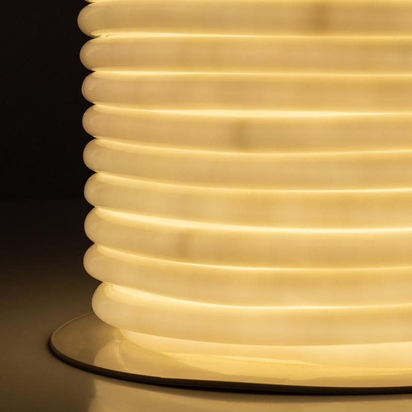 Bobina Striscia LED Neon Flessibile Circolare 360 120LED/m IP67 Bianco Naturale 50 Metri