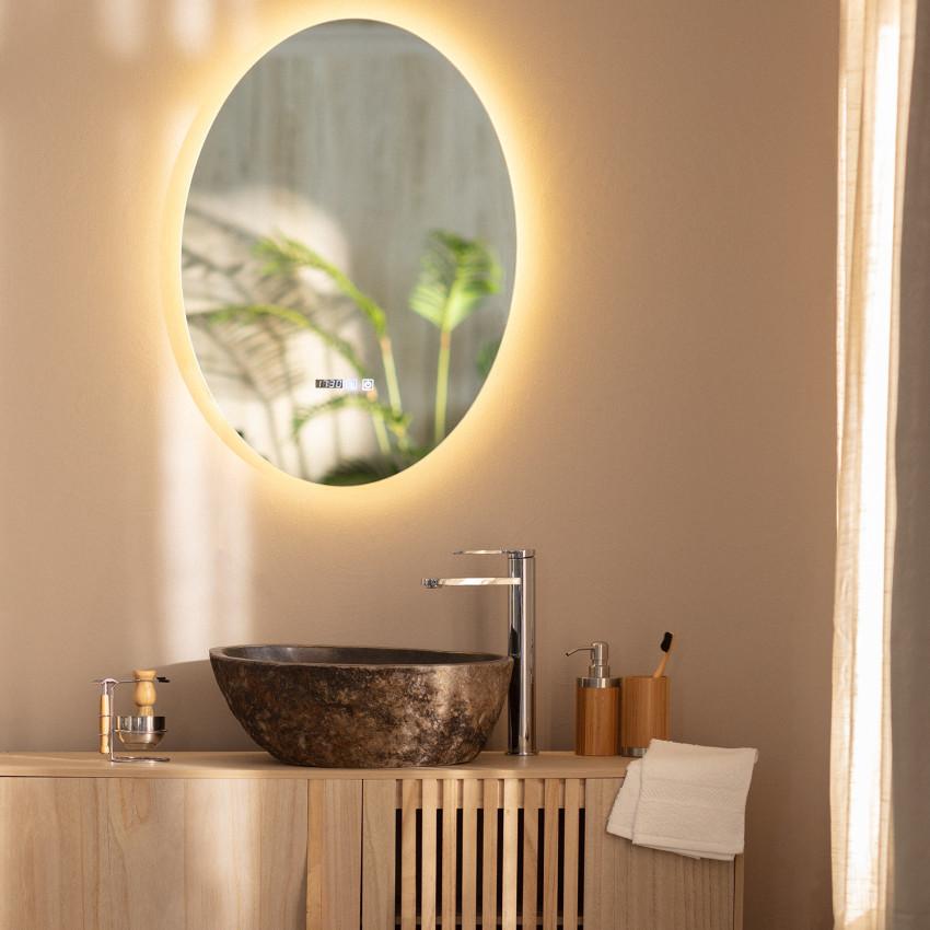 Specchio LED Antiappannamento Touch Catedrais 70x50 cm