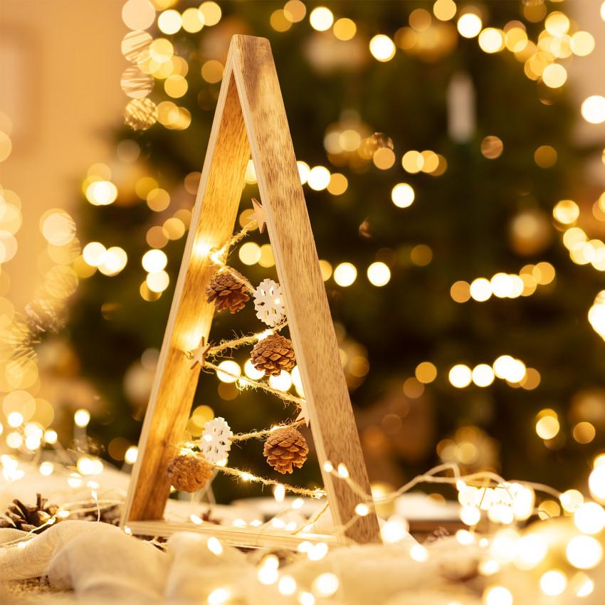 Albero di Natale LED Golden con Batteria