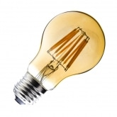 A60 E27 6W Classic Gold Filament LED Bulb (Dimmable)
