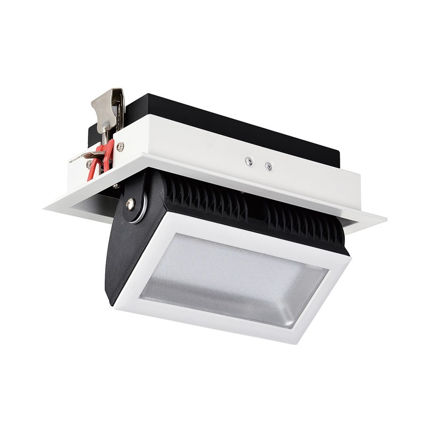 48W 140° Adjustable Rectangular SAMSUNG LED Spotlight Projector (120lm/W)