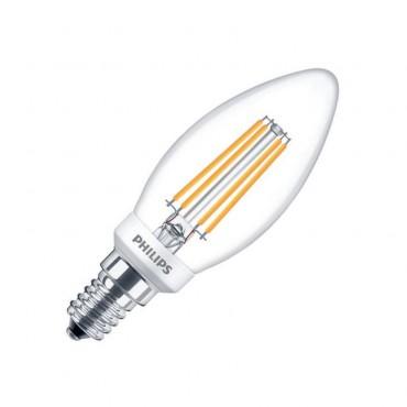 E14 5W PHILIPS B35 CLA Candle Filament LED Bulb (Dimmable)