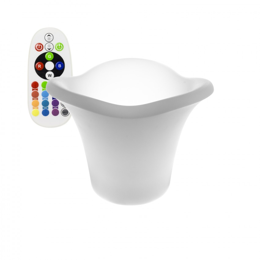 32cm Rechargeable RGBW LED Ice Bucket / Plant Pot