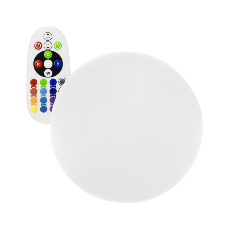 30cm Rechargeable RGBW LED Sphere