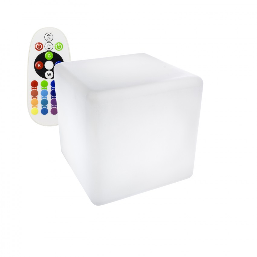 40cm Rechargeable RGBW LED Cube