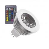GU5.3 MR16 60º 3W RGB LED Lamp (220V AC)