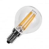 G45 E14 3W LED Spherical Filament Bulb (Dimmable)