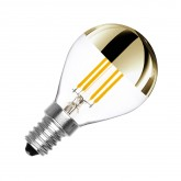 G45 E14 3.5W LED Gold Reflect Filament Bulb (Dimmable)