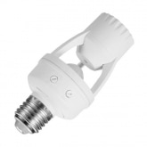 PIR Presence Detector for E27 Bulbs