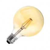 G95 E27 6W Gold Planet Filament LED Bulb (Dimmable)