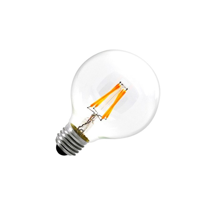 g80 e27 6w balloon filament led bulb dimmable ledkia. Black Bedroom Furniture Sets. Home Design Ideas