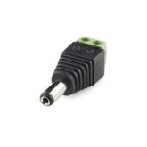 Male DC Connector with IP65 Protection