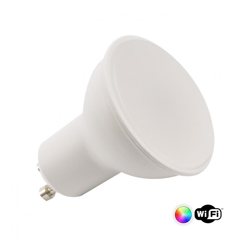 4W GU10 Smart WiFi Dimmable RGBW LED Bulb