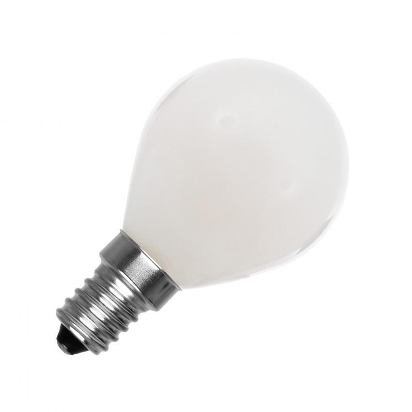 G45 E14 4W Spherical Glass LED Bulb