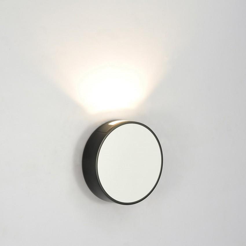 White 6W Crono LED Wall Light