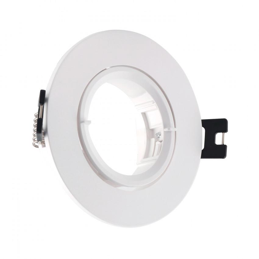 PC Round Tilting Ring for GU10 / GU5.3 LED Bulb