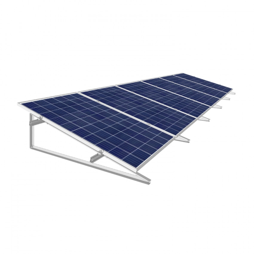 Coplanar Structure for Solar Panels 30º Inclination