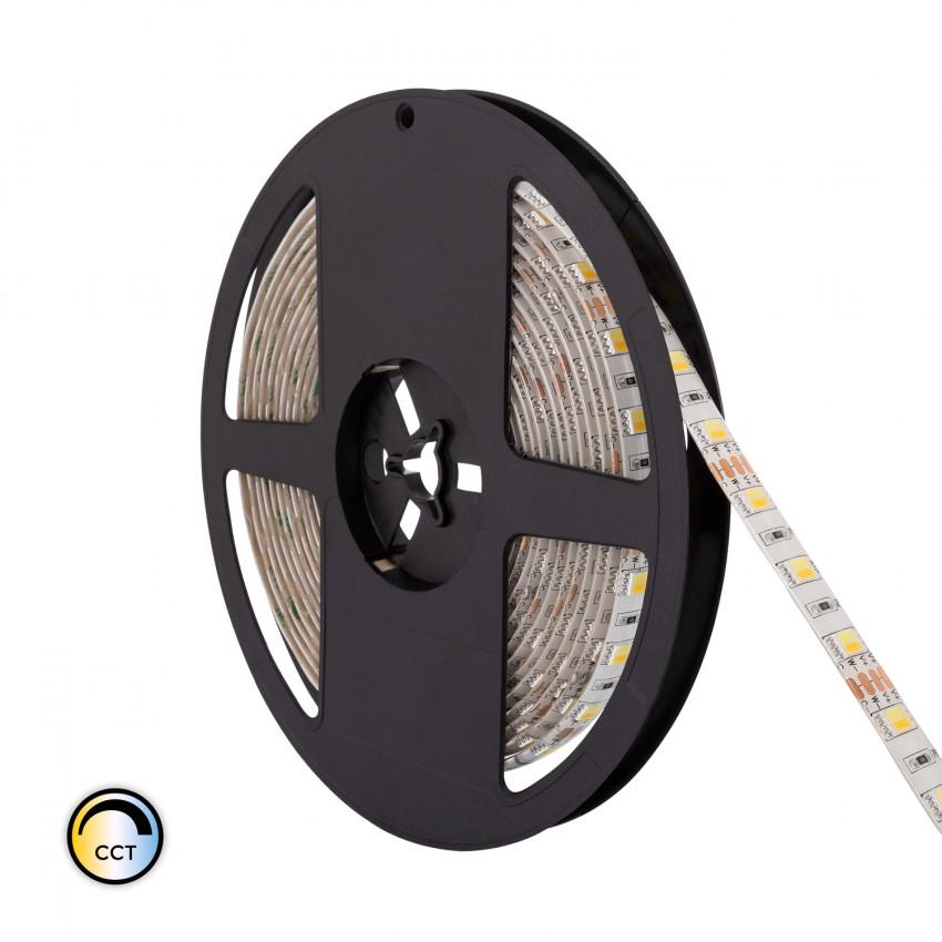 5m LED Strip 12V DC 60LED/m CCT Selectable IP65