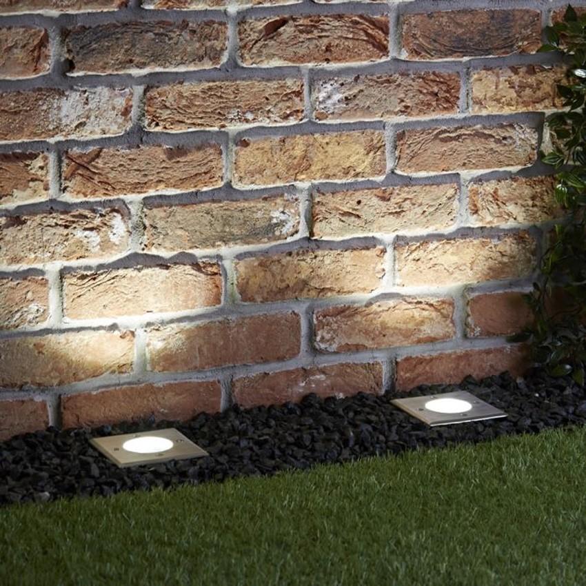 Recessed Square Ground Spotlight (IP67)