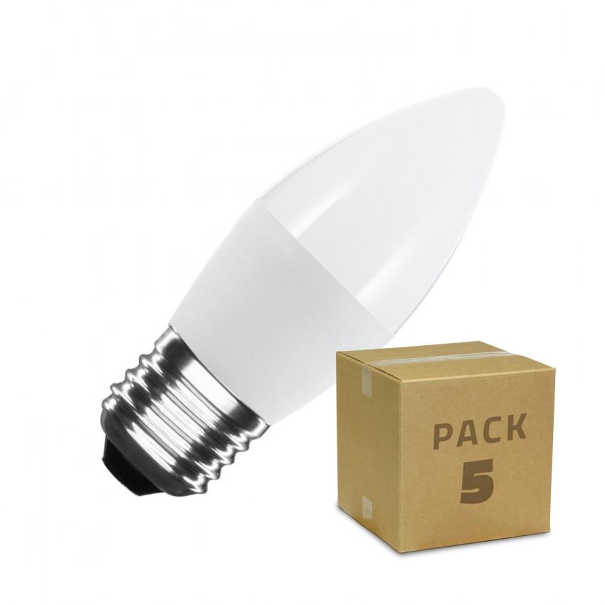 Pack of C37 E27 5W LED Bulbs (10 Units)