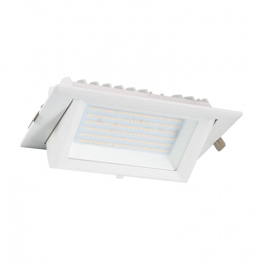60W Rectangular SAMSUNG 130lm/W LIFUD Adjustable LED Spotlight