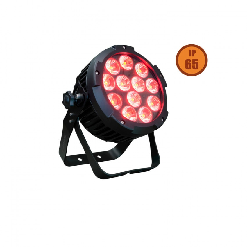 144W EQUIPSON SUPERLED 144 IP65 DMX RGBWA + UV LED Spotlight