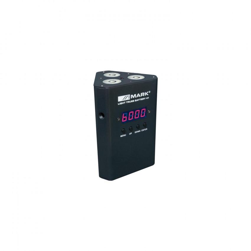 12W Equipson LIGHT TRUSS BAT 41 RGBW DMX Floodlight with Battery