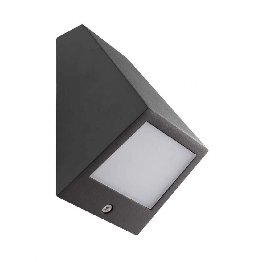3W LEDS-C4 05-9836-Z5-CL Angle LED Wall Light