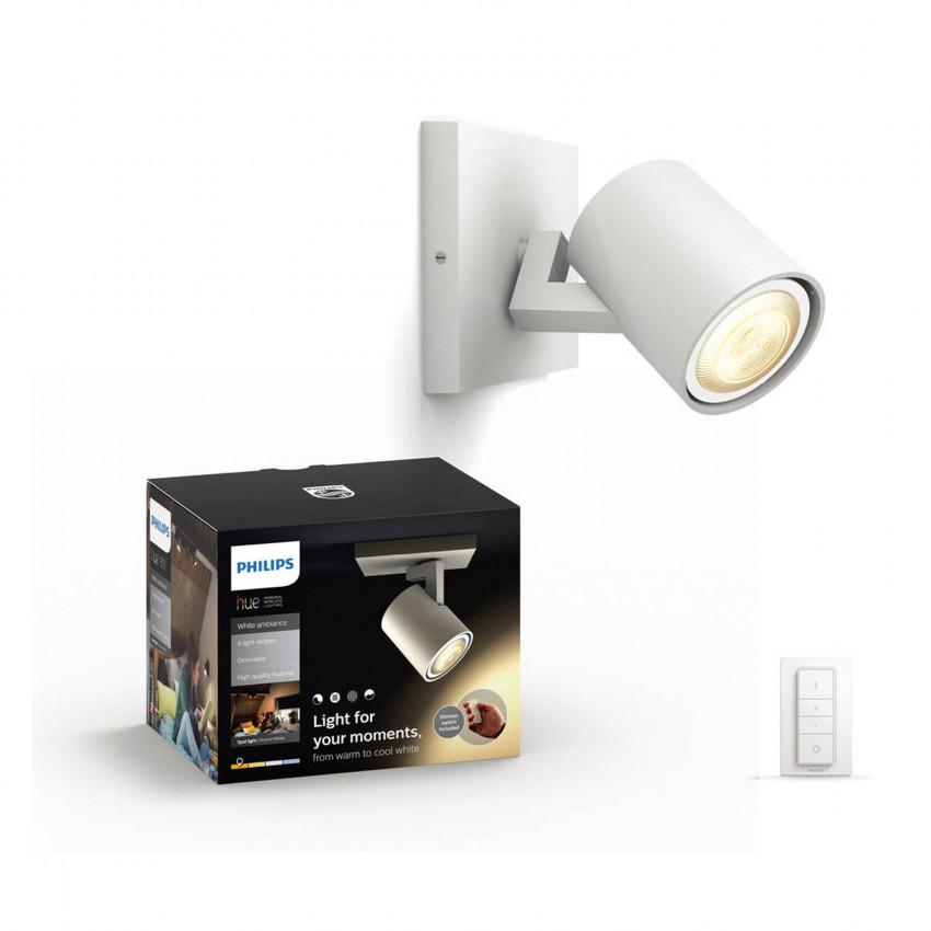 Single Spotlight  CCT PHILIPS Runner LED Ceiling Light