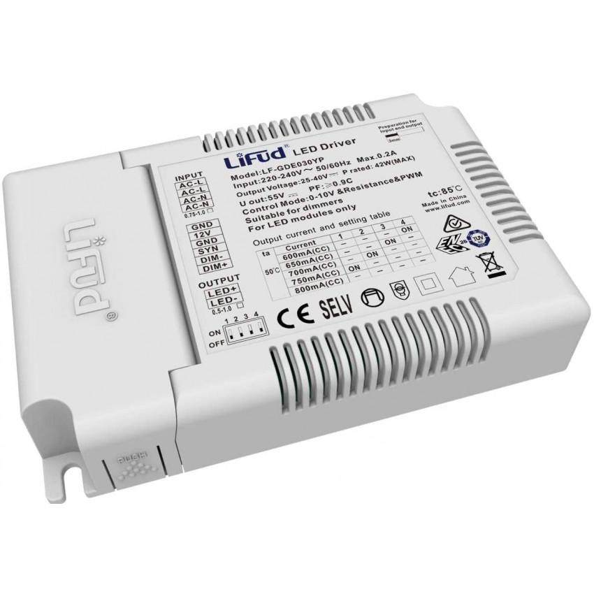 22-32W 27-40V Output 220-240V 800mA Flicker-Free 1-10V Dimmable LIFUD Driver LF-GDE030YP