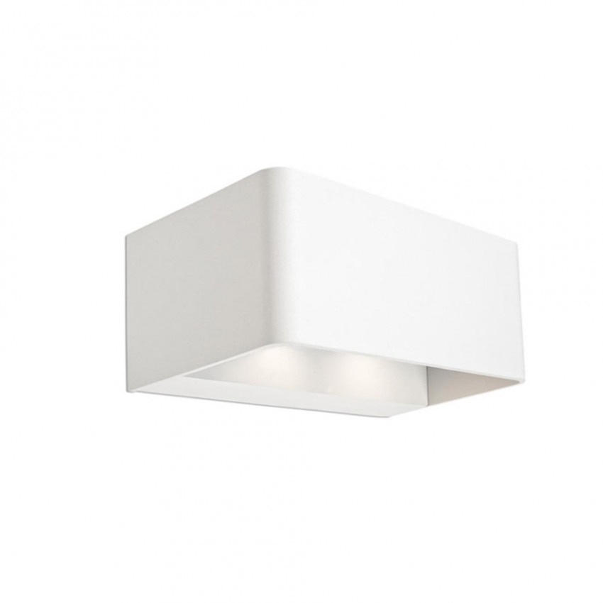 18W IP65 Wilson Rectangular LED Wall Light LEDS-C4 05-9684-14-CL
