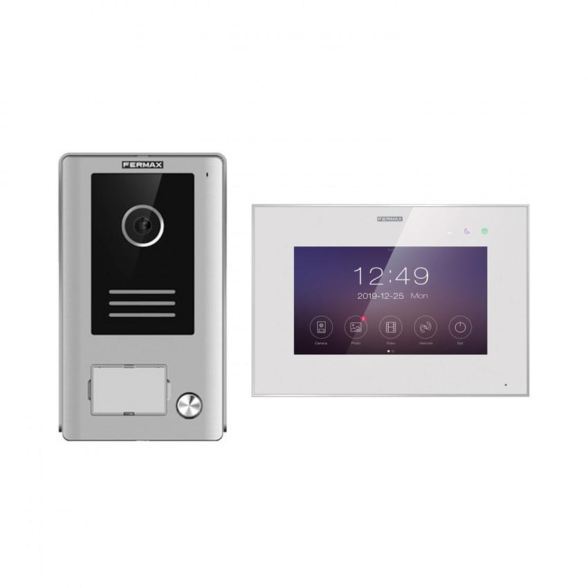 """FERMAX 1431 Automatic Doorman Video Kit 1 Ring WAY-FI 7"""""""